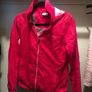 Brand new Columbia rain jacket